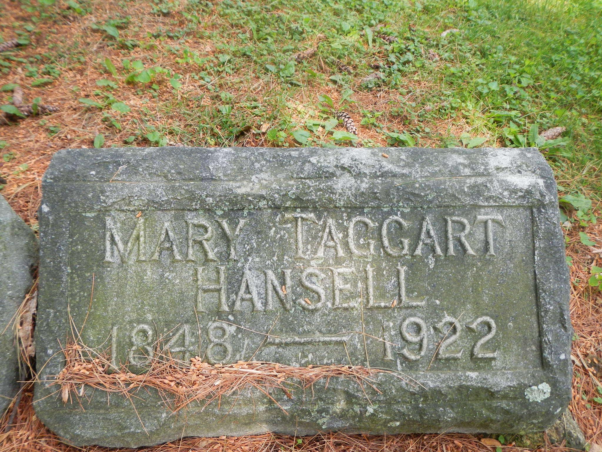 Mary <i>Taggart</i> Hansell