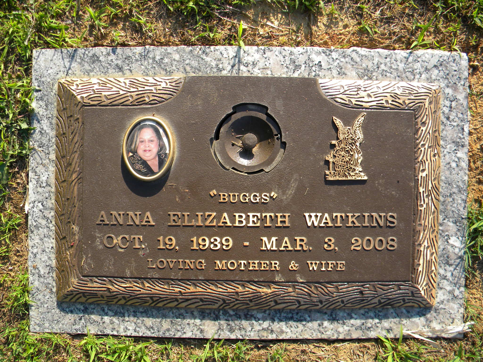 Anne Elizabeth Bugs <i>Harris</i> Watkins