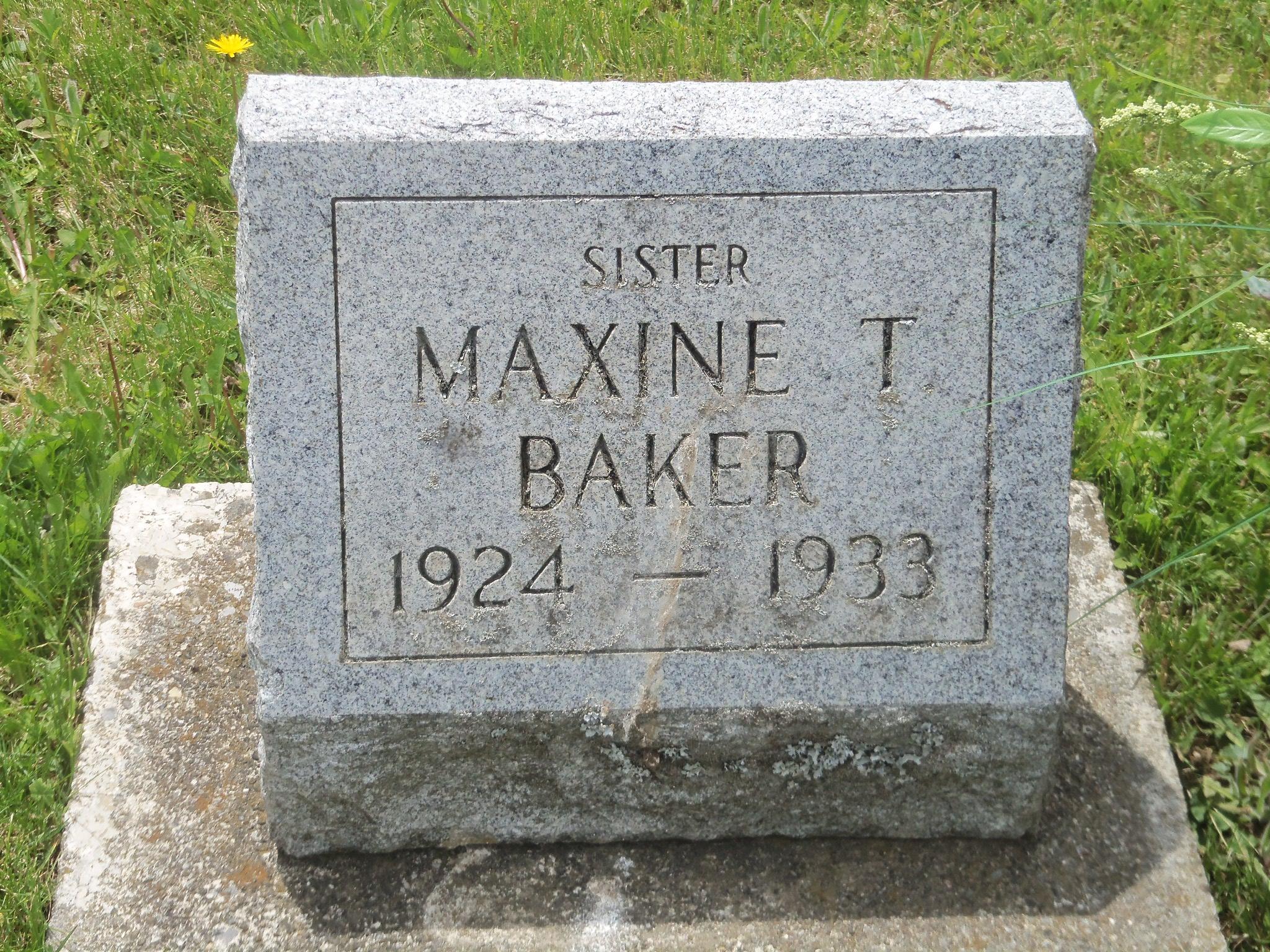 Maxine T. Baker