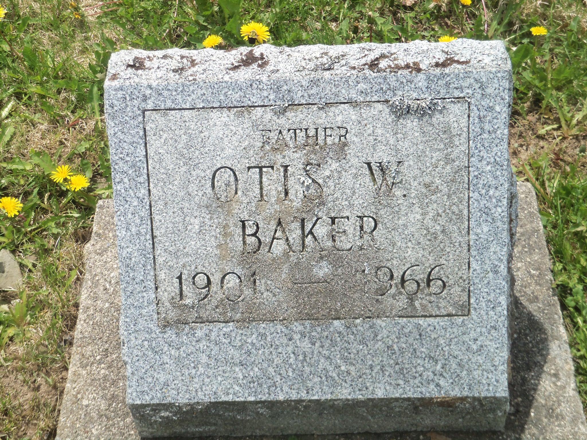 Otis W, Baker