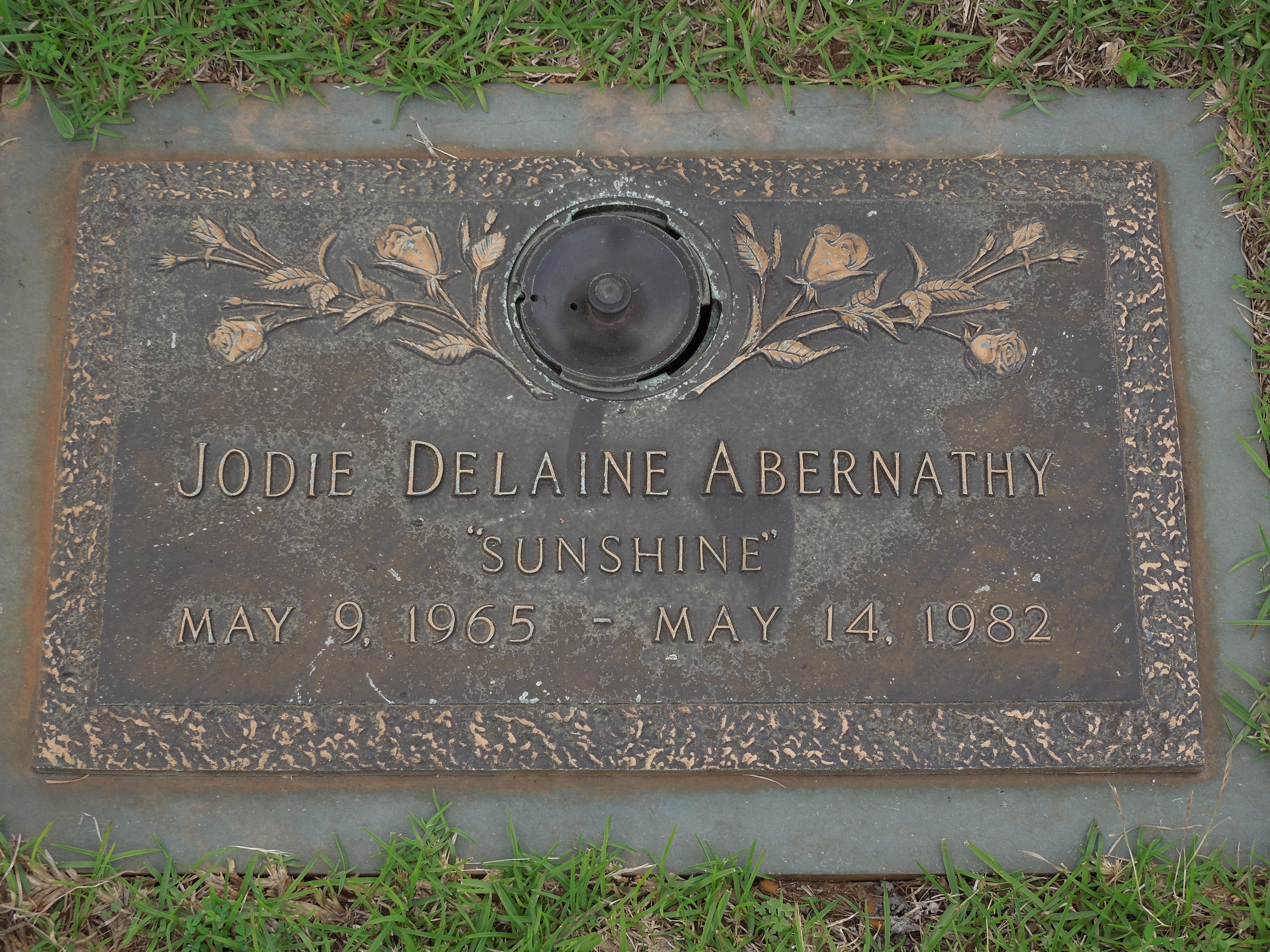 Jodie Delaine Sunshine Abernathy