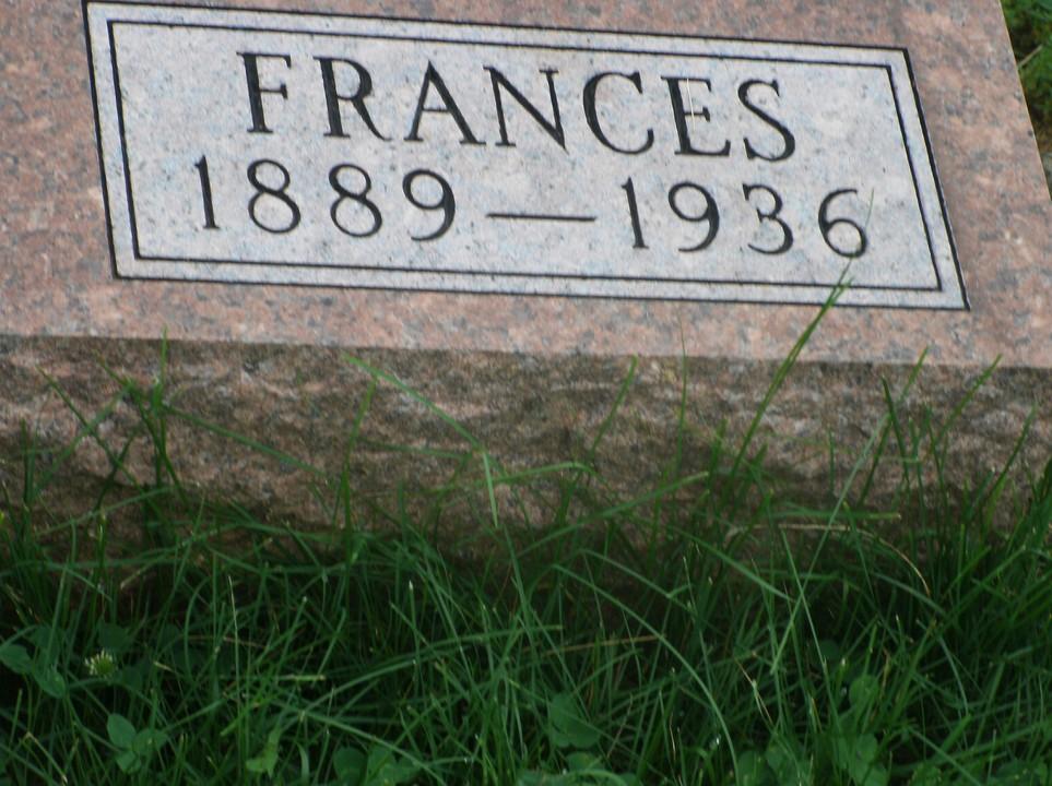 Frances <i>Scherf</i> Hanf