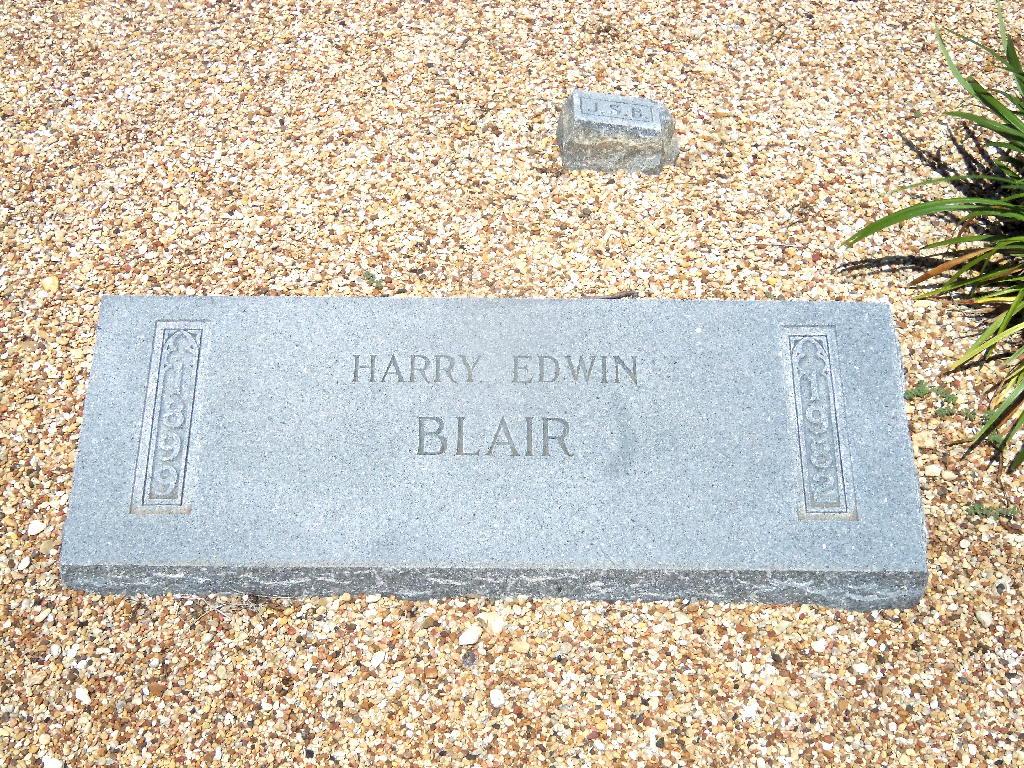 Harry Edwin Blair