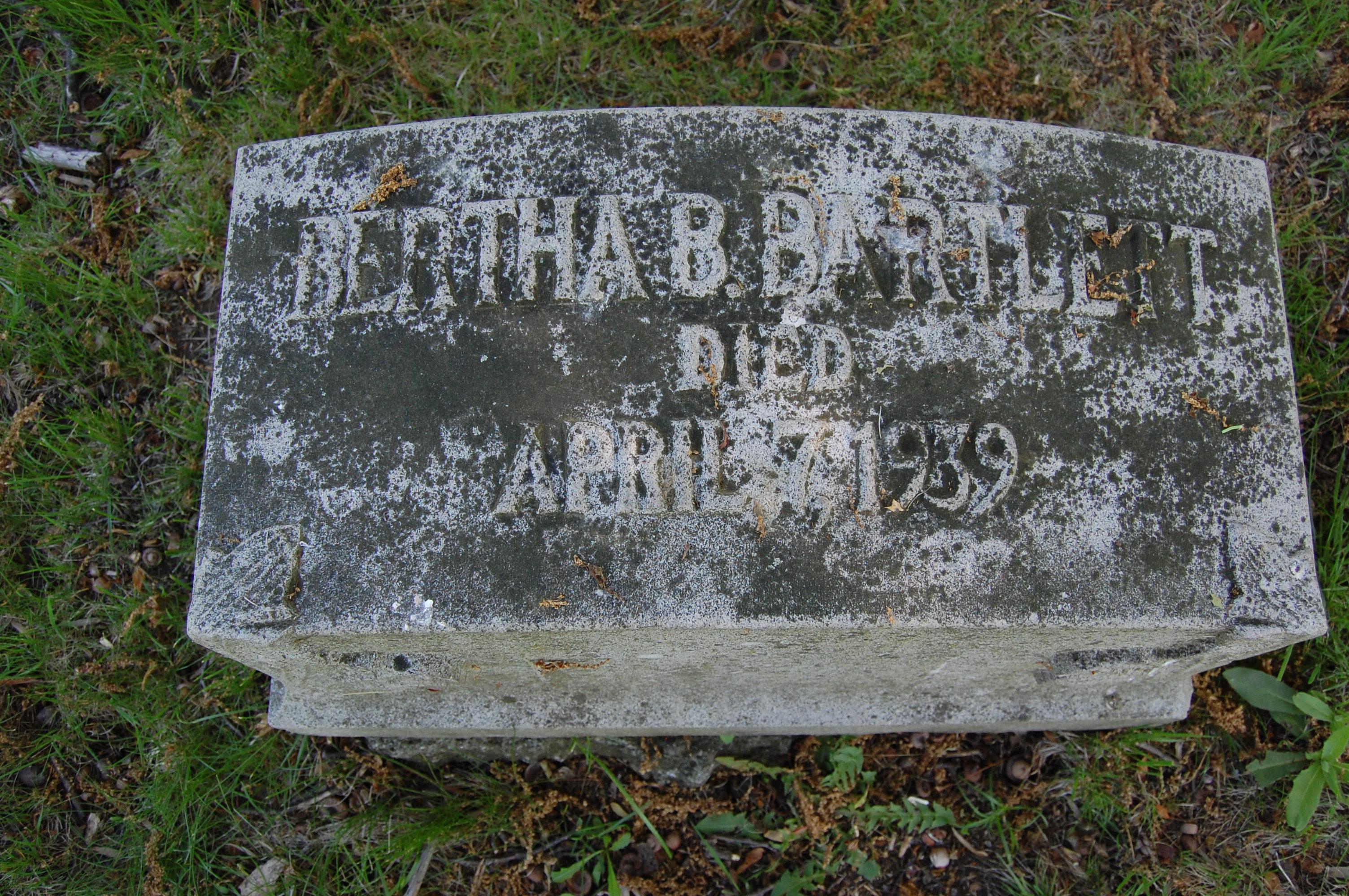 Bertha B. Bartlett