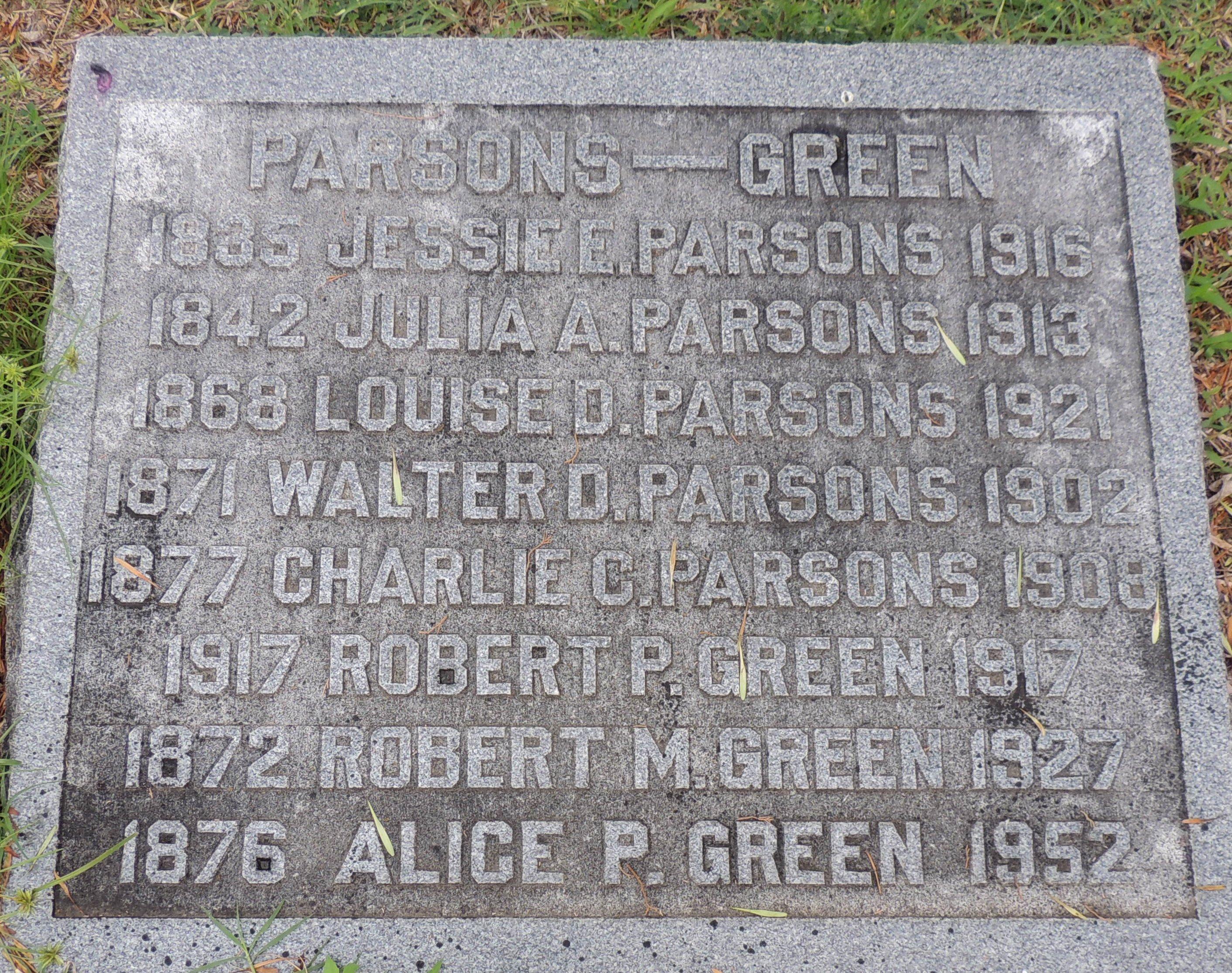 Robert Mortimore Green