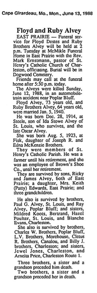Ruby Mae <i>Brothers</i> Alvey