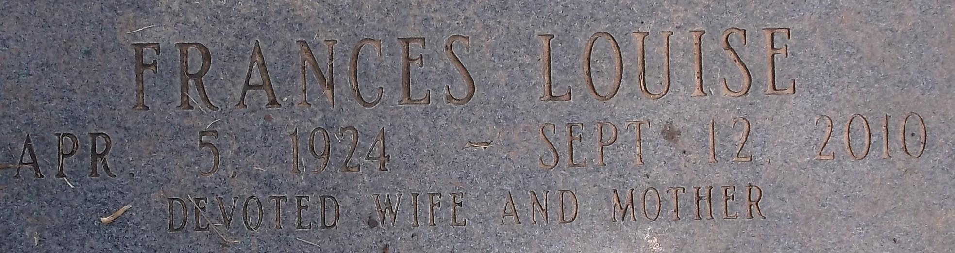 Frances Louise <i>Thomas</i> Berry