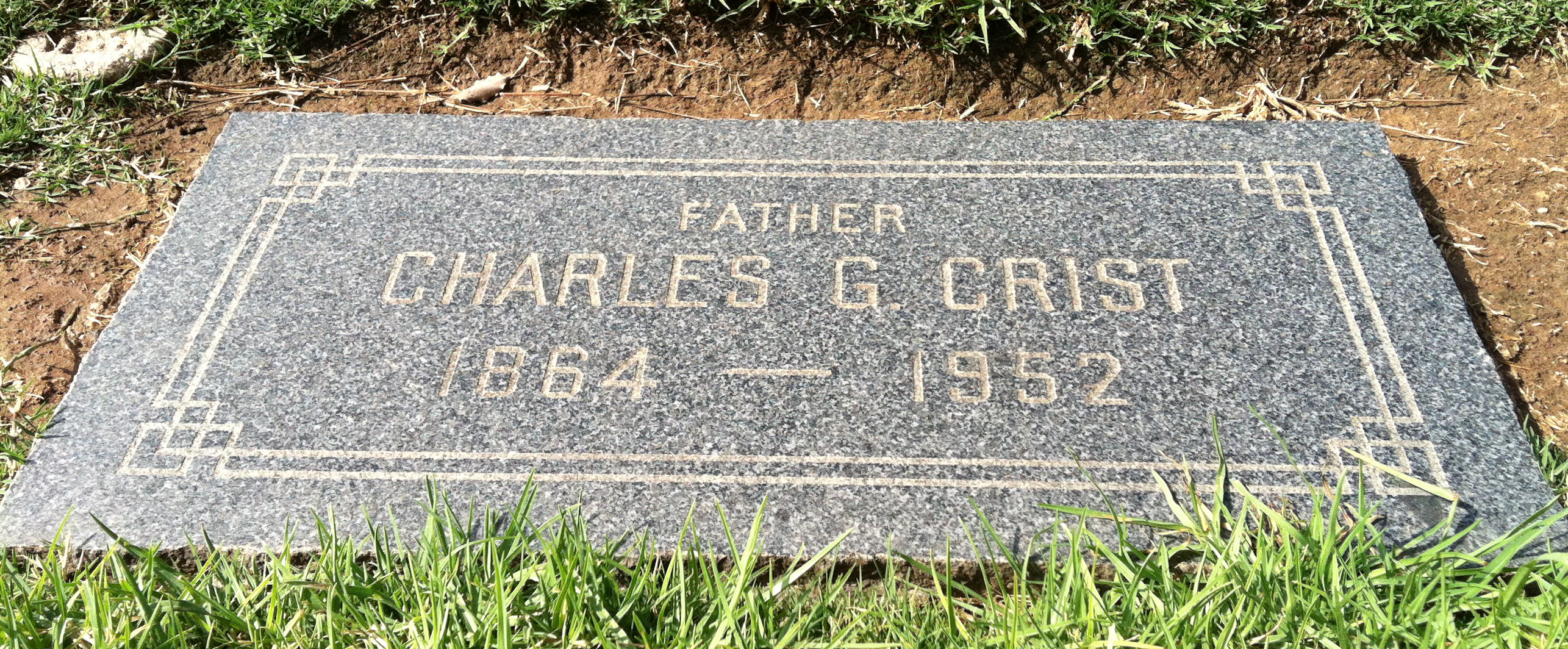 Charles Griffith Crist
