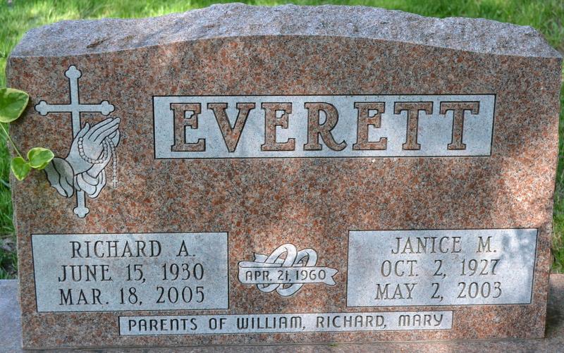 Janice Marie <i>Staudt</i> Everett