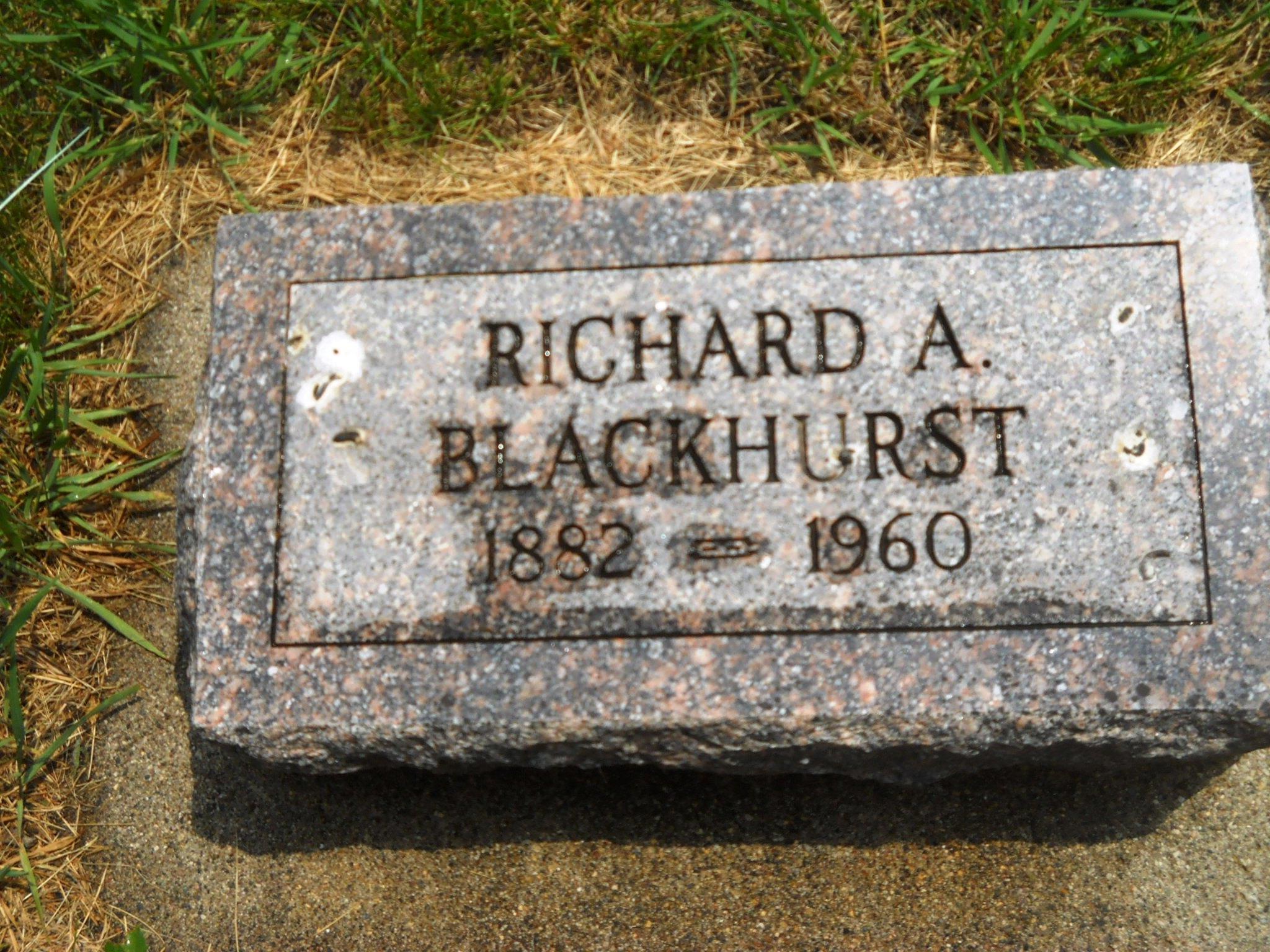 Richard A Blackhurst
