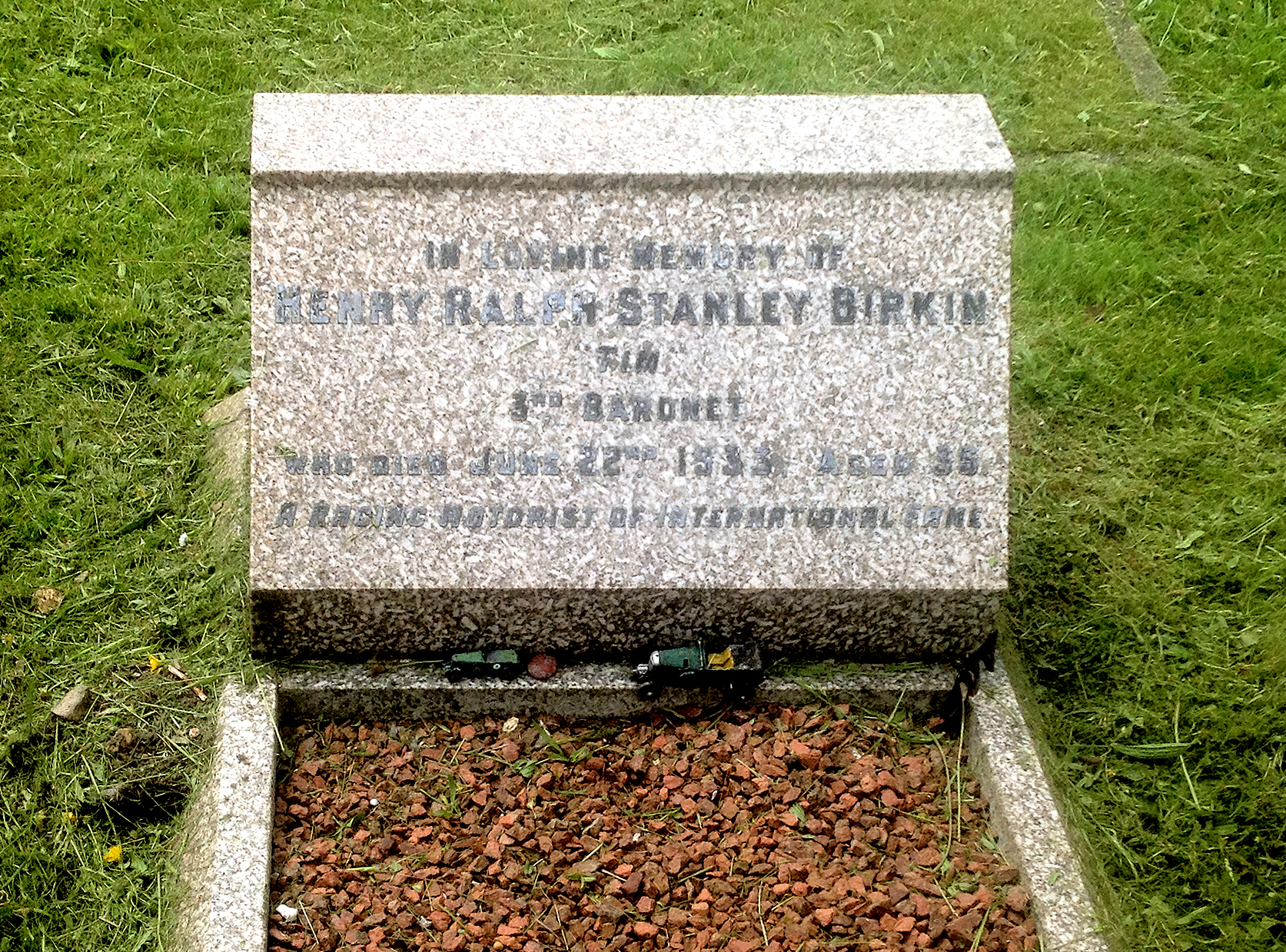 Sir Henry Stanley Tim Birkin