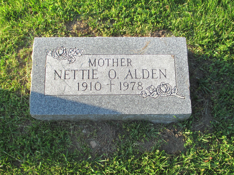 Nettie O. Alden