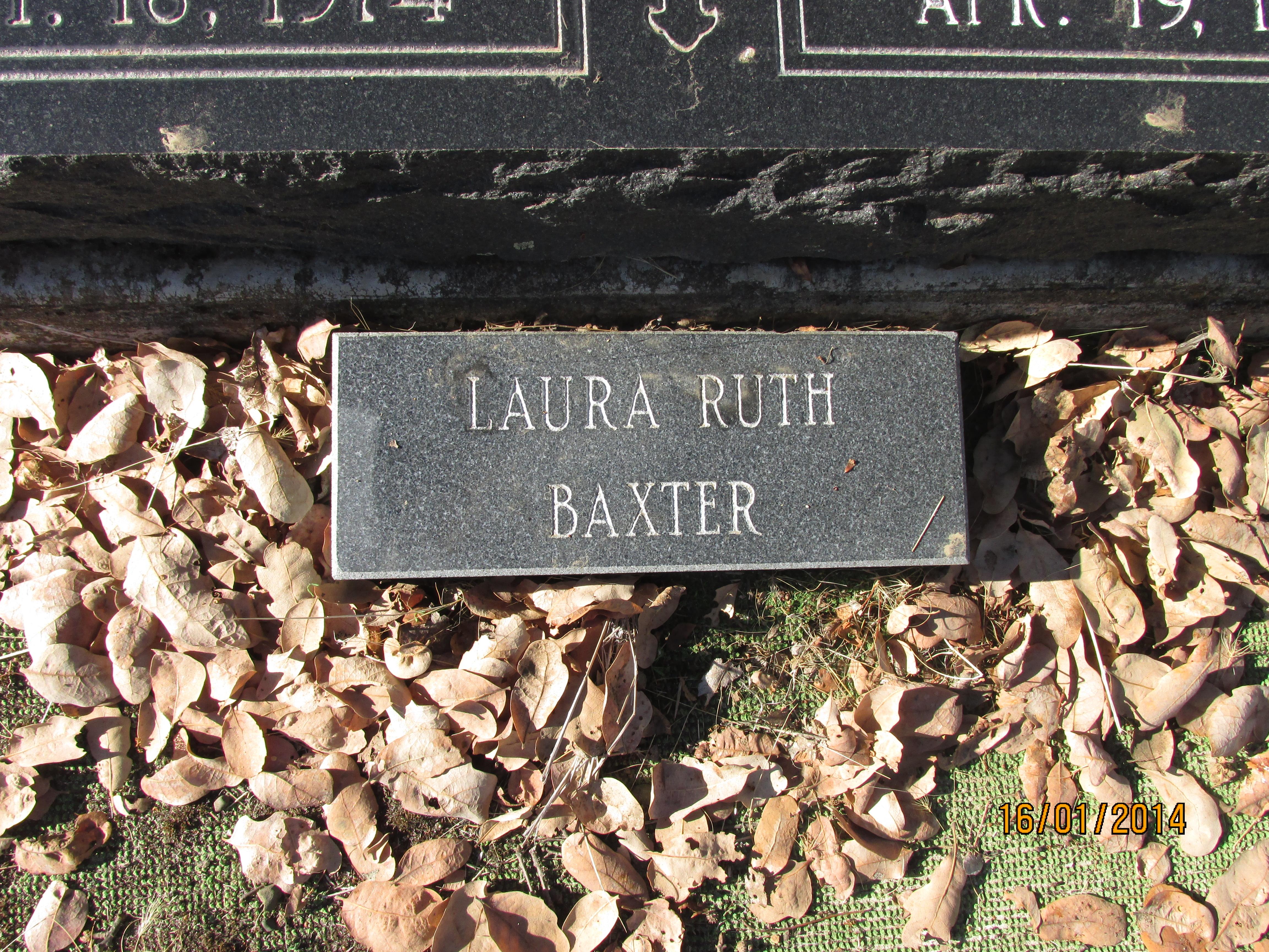 Laura Ruth Baxter