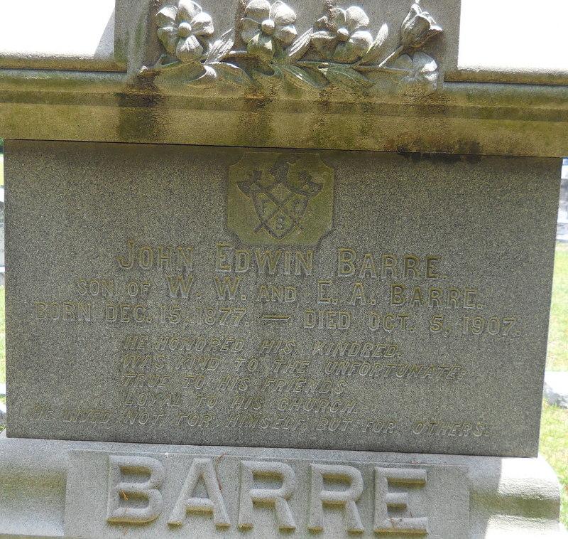 John Edwin Barre