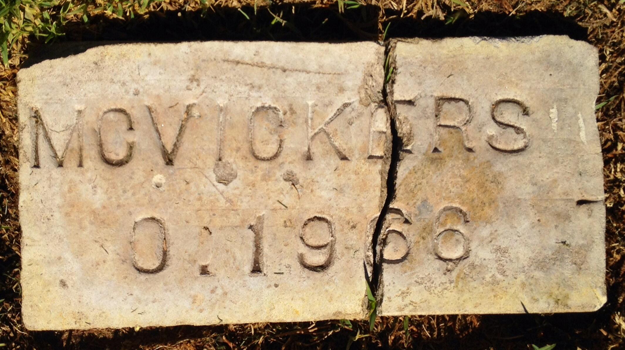 Oran M McVicker