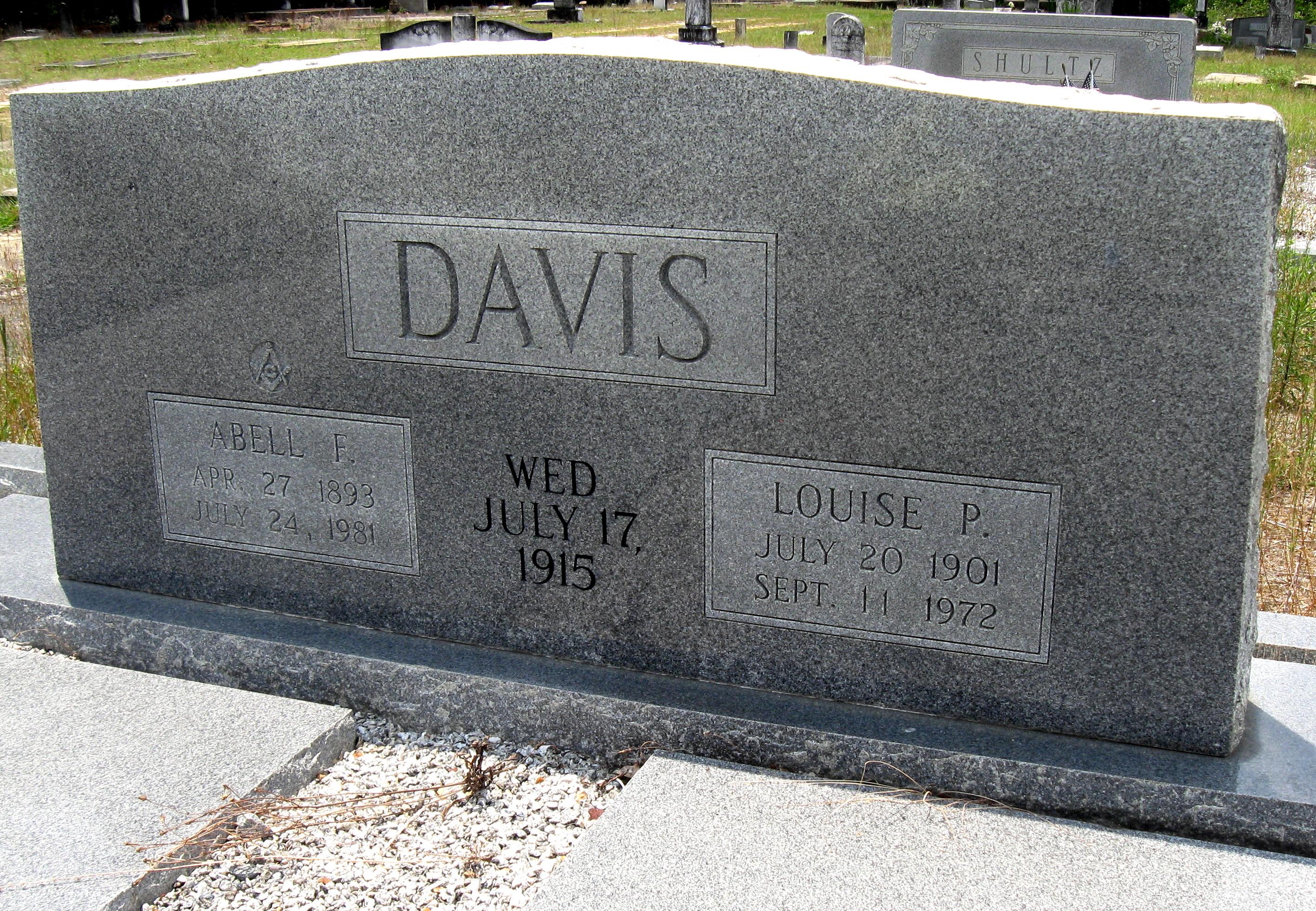 Louise P Davis