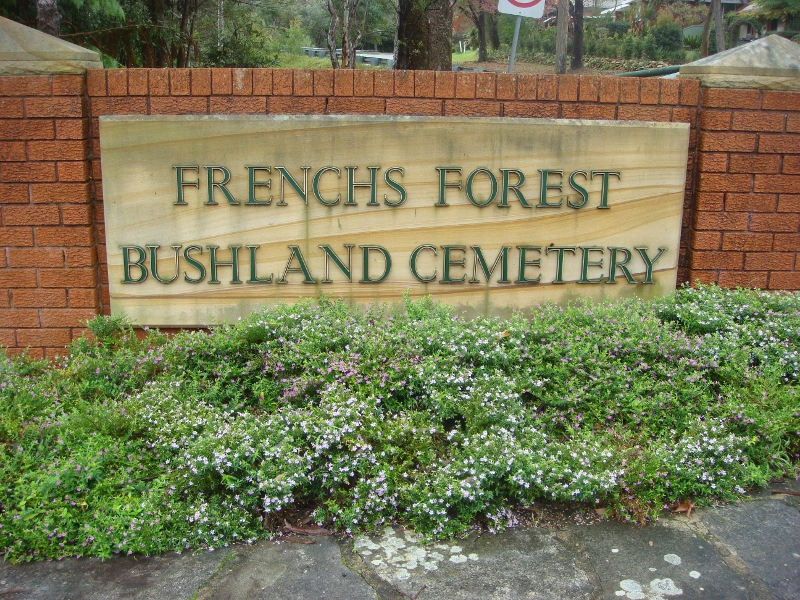 French's Forest Cemetery in Davidson, New South Wales - Find