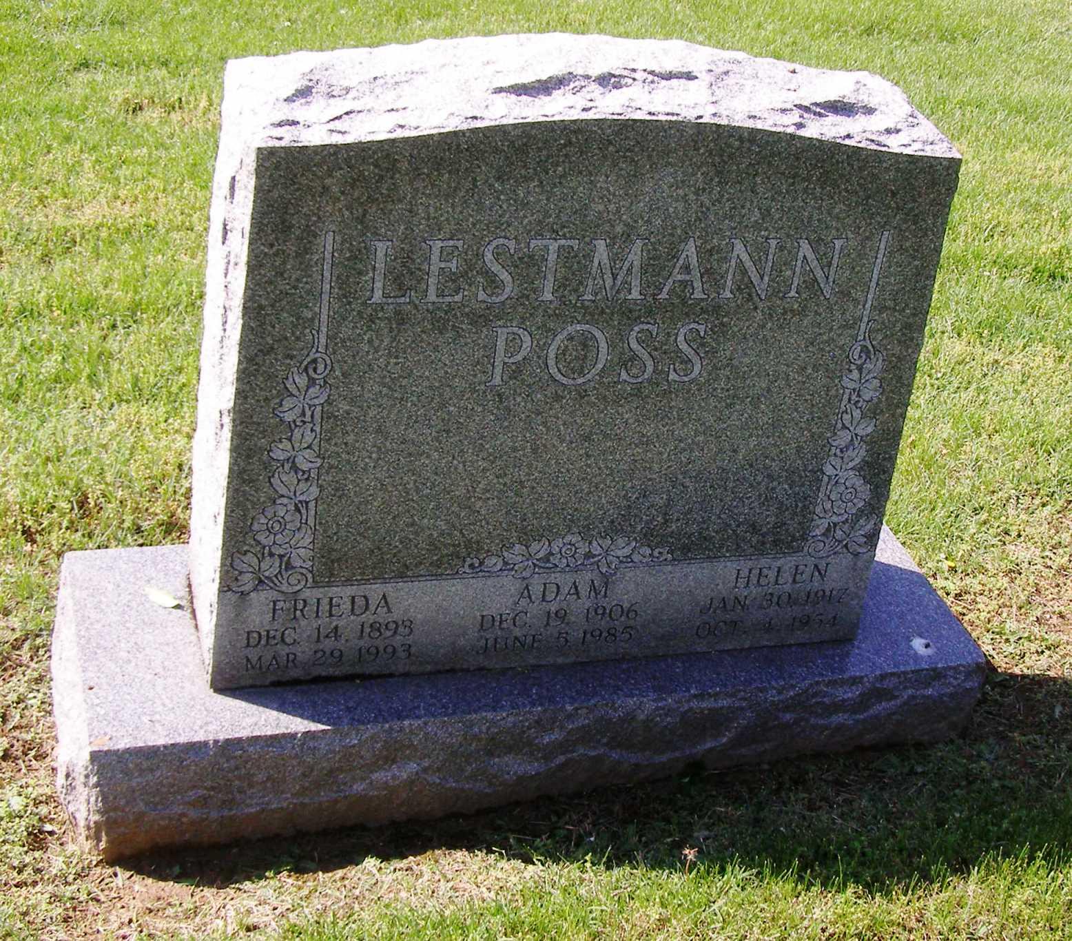 Helen Louise <i>Stethem</i> Poss
