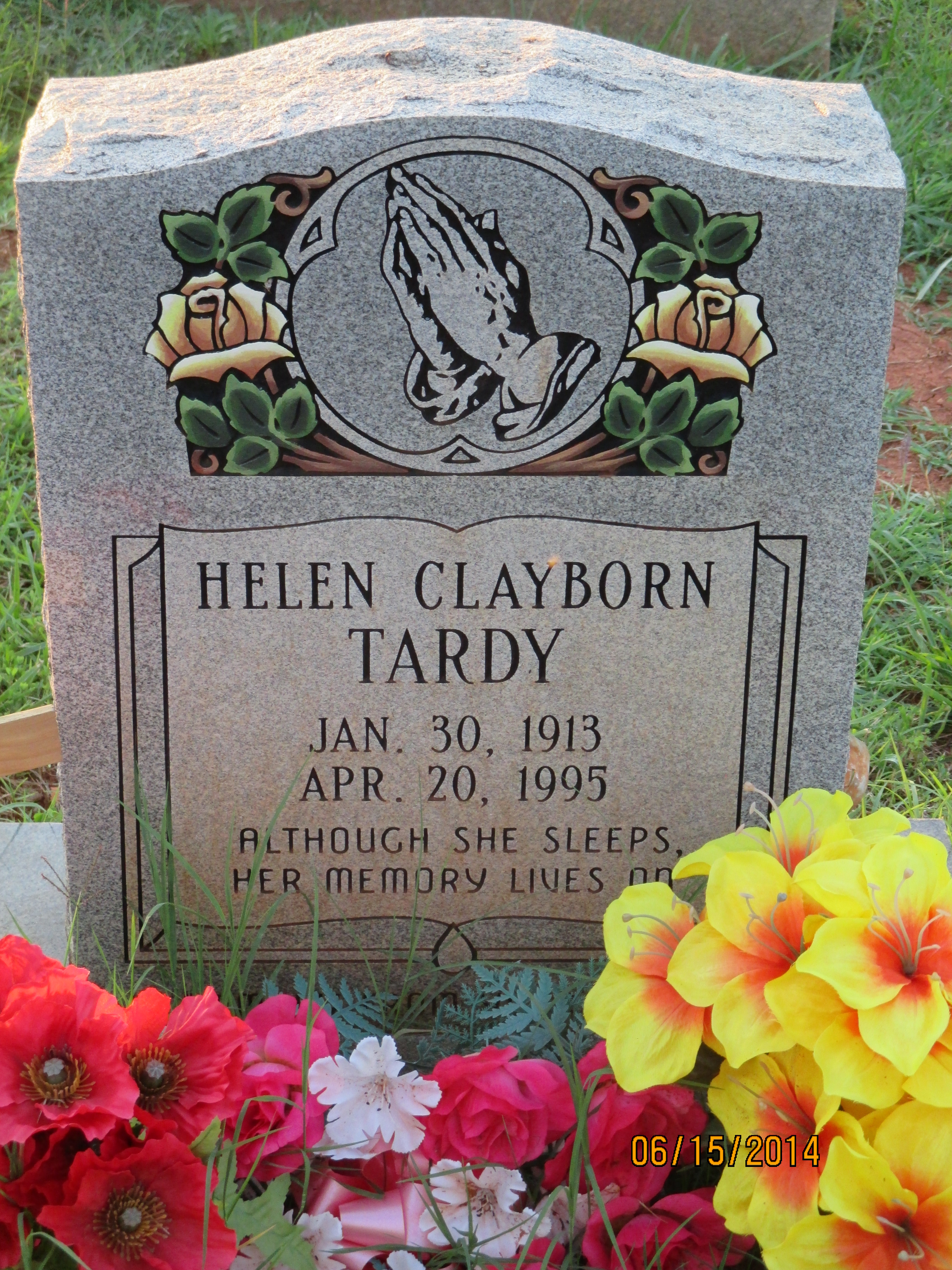 Helen clayborn tardy 1913 1995 find a grave memorial
