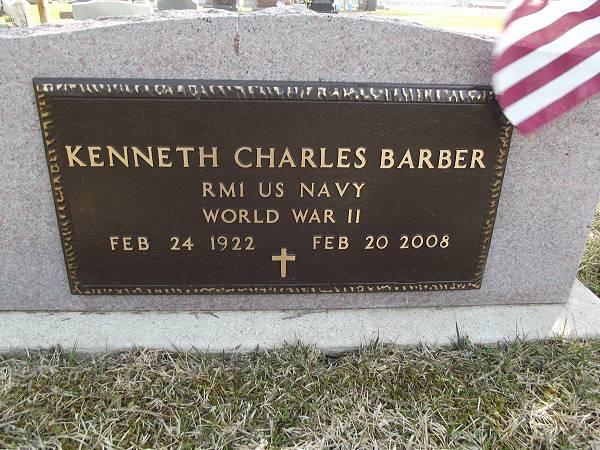 Kenneth Charles Barber