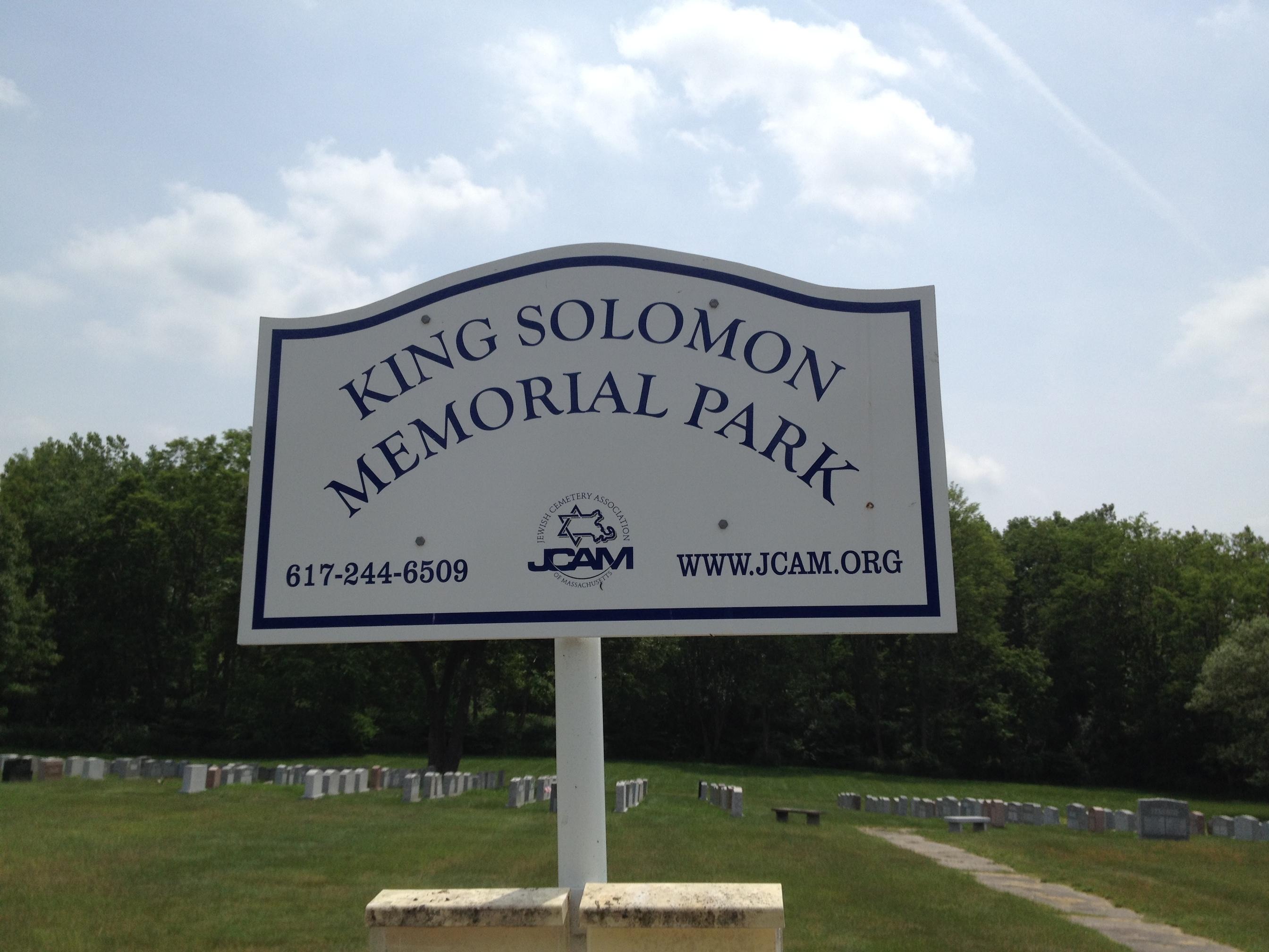 King Solomon Memorial Park