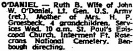 Ruth B. O'Daniel
