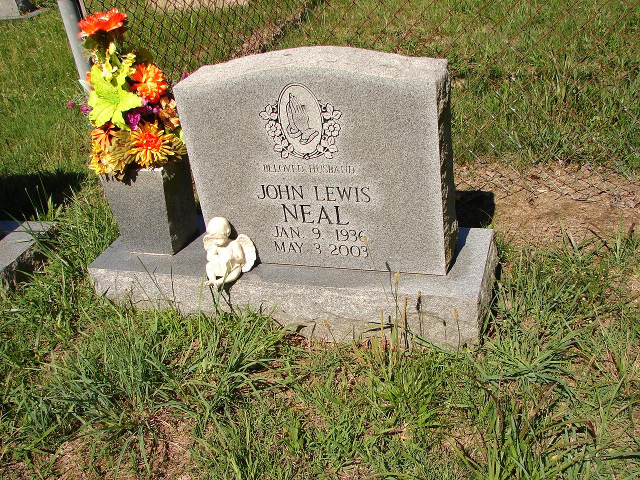 John lewis neal 1936 2003 find a grave memorial view original izmirmasajfo
