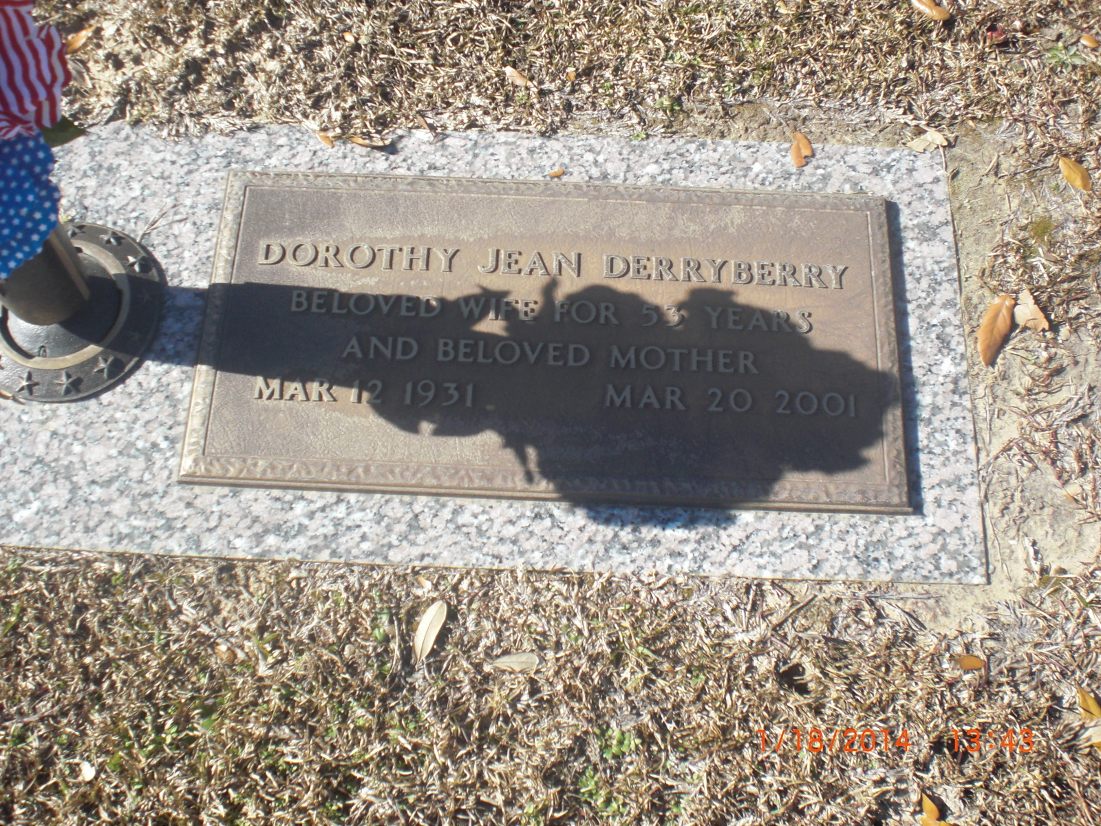 Dorothy Jean <i>Walters</i> Derryberry