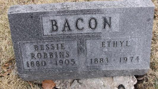 Bessie <i>Bacon</i> Robbins