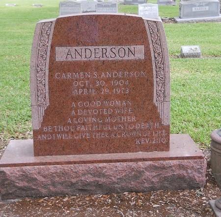 Carmen <i>Stone</i> Anderson