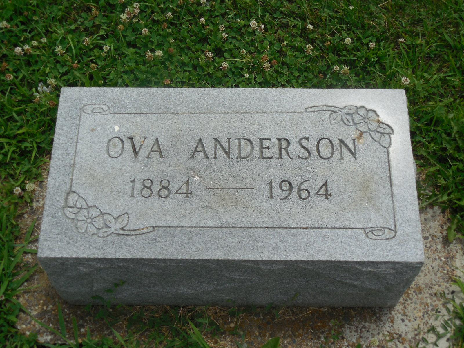 Amy Ova <i>Waters</i> Anderson