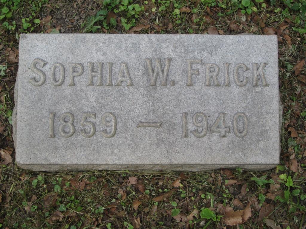 Sophia <i>Waller</i> Frick