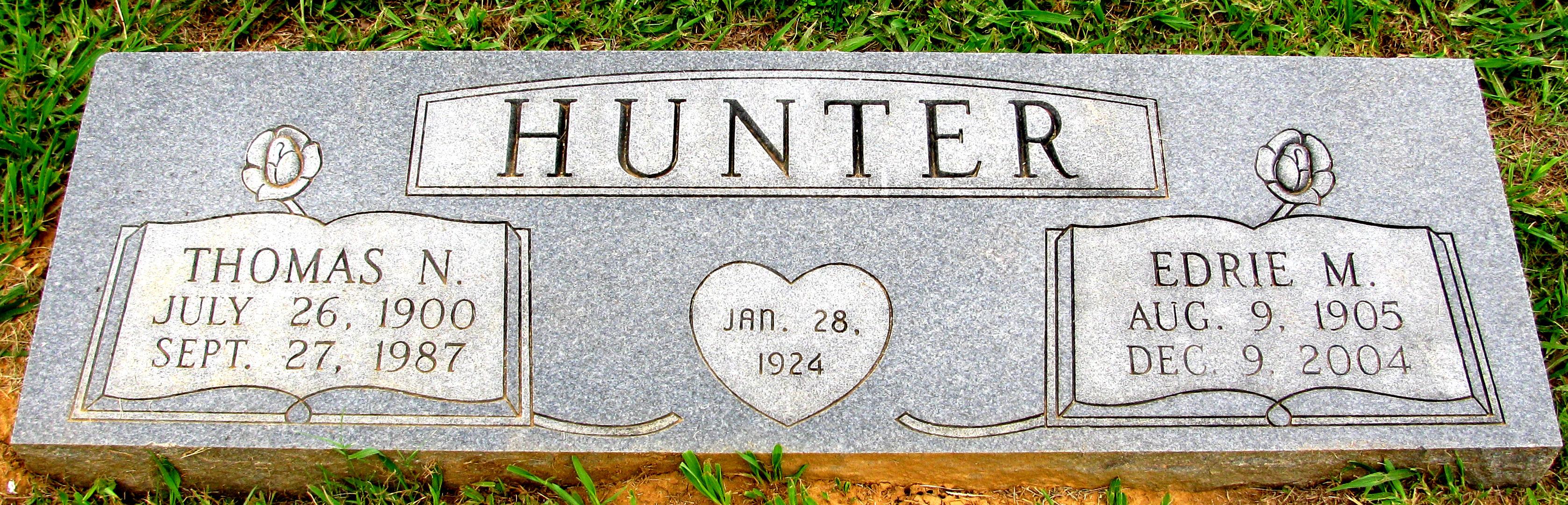 Thomas Newton Hunter