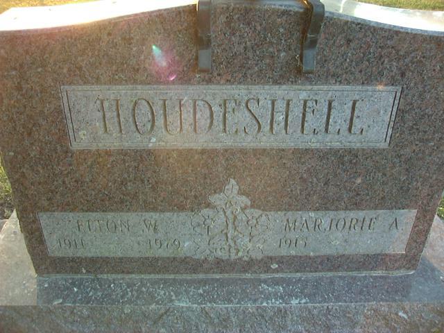 Marjorie A. <i>Lane</i> Houdeshell