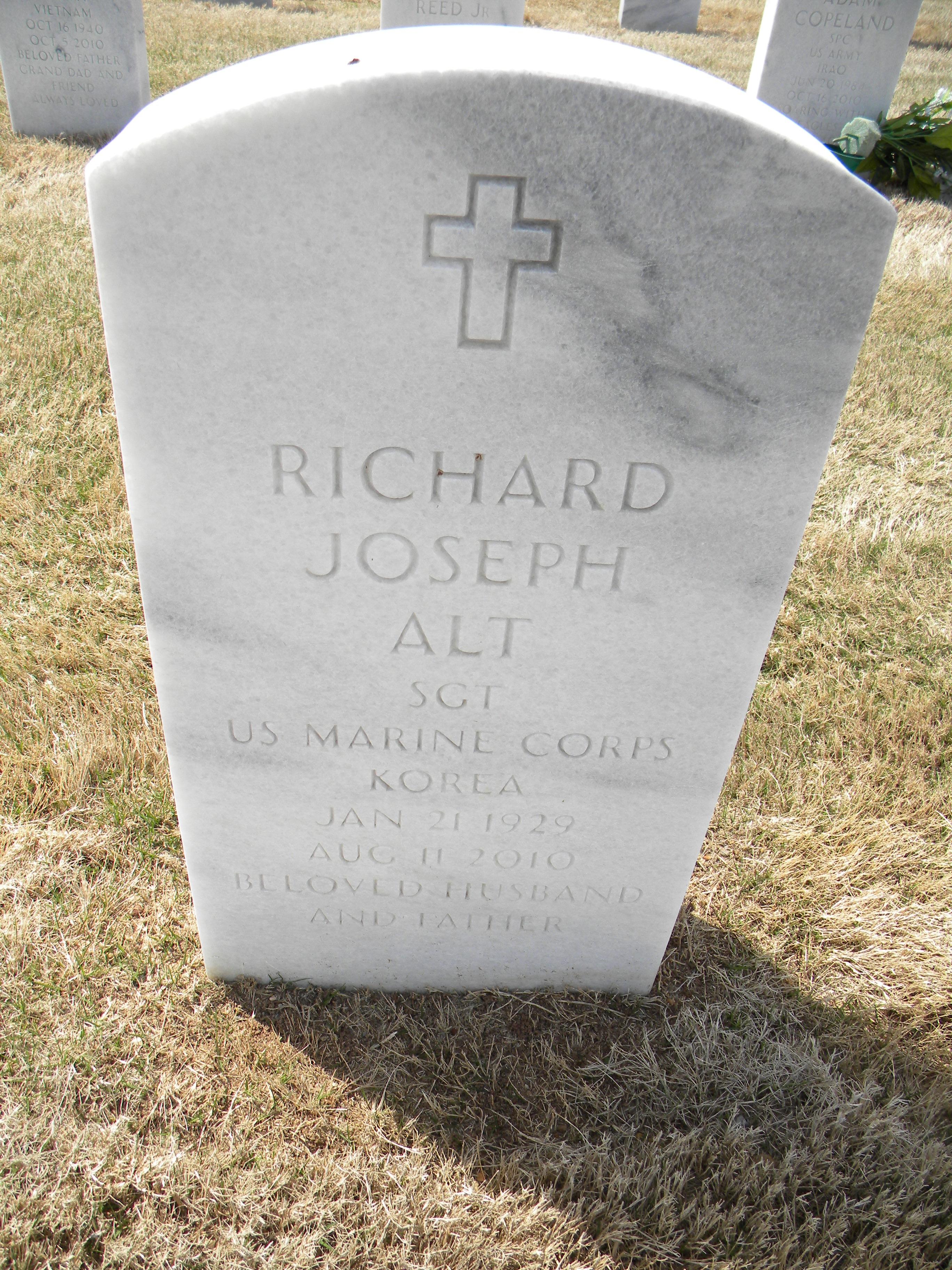 Sgt Richard Joseph Alt