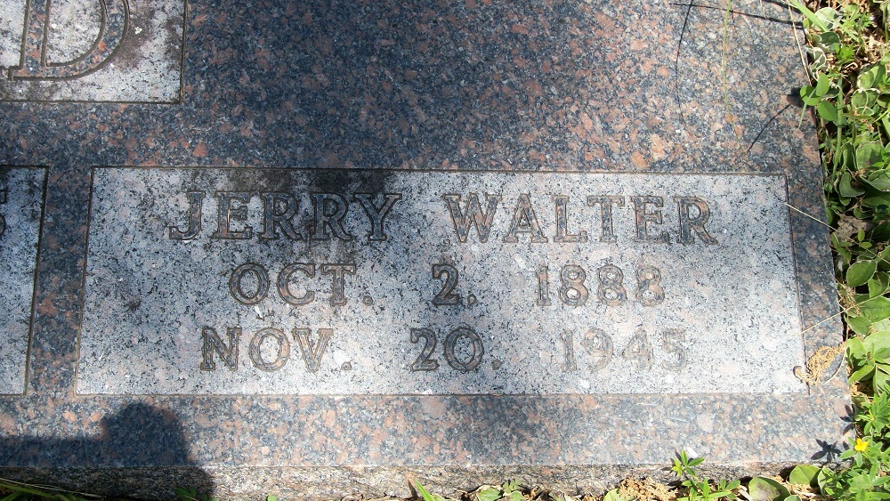 Jerry Walter Ashmead