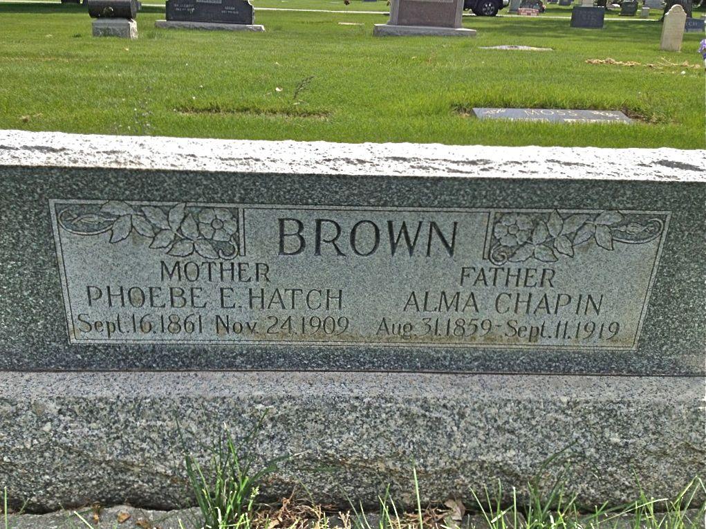 Alma Chapin Brown