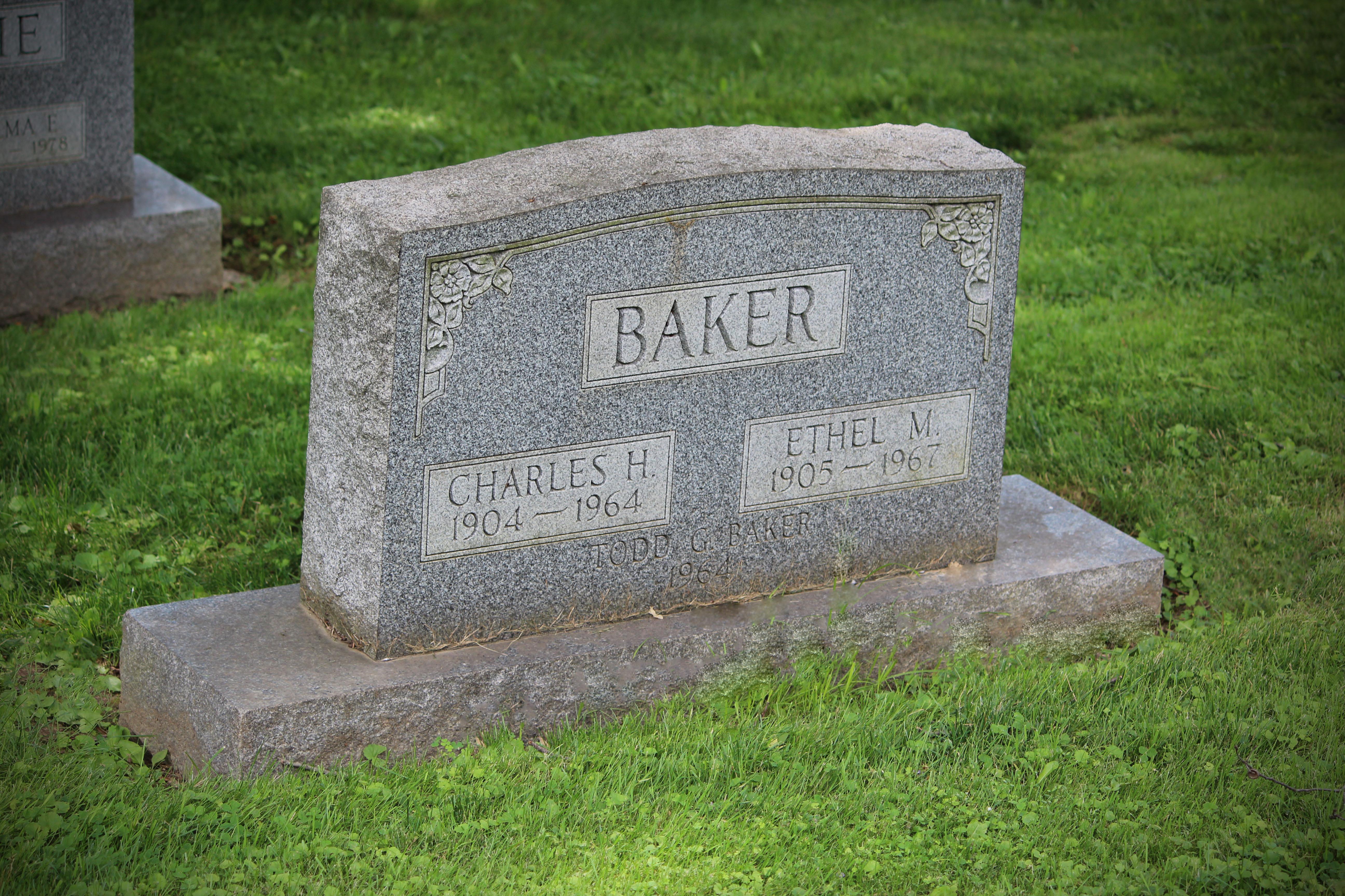 Charles Hansford Baker