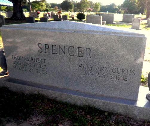 Thomas Rhett Spencer (1927-2003) - Find A Grave Memorial
