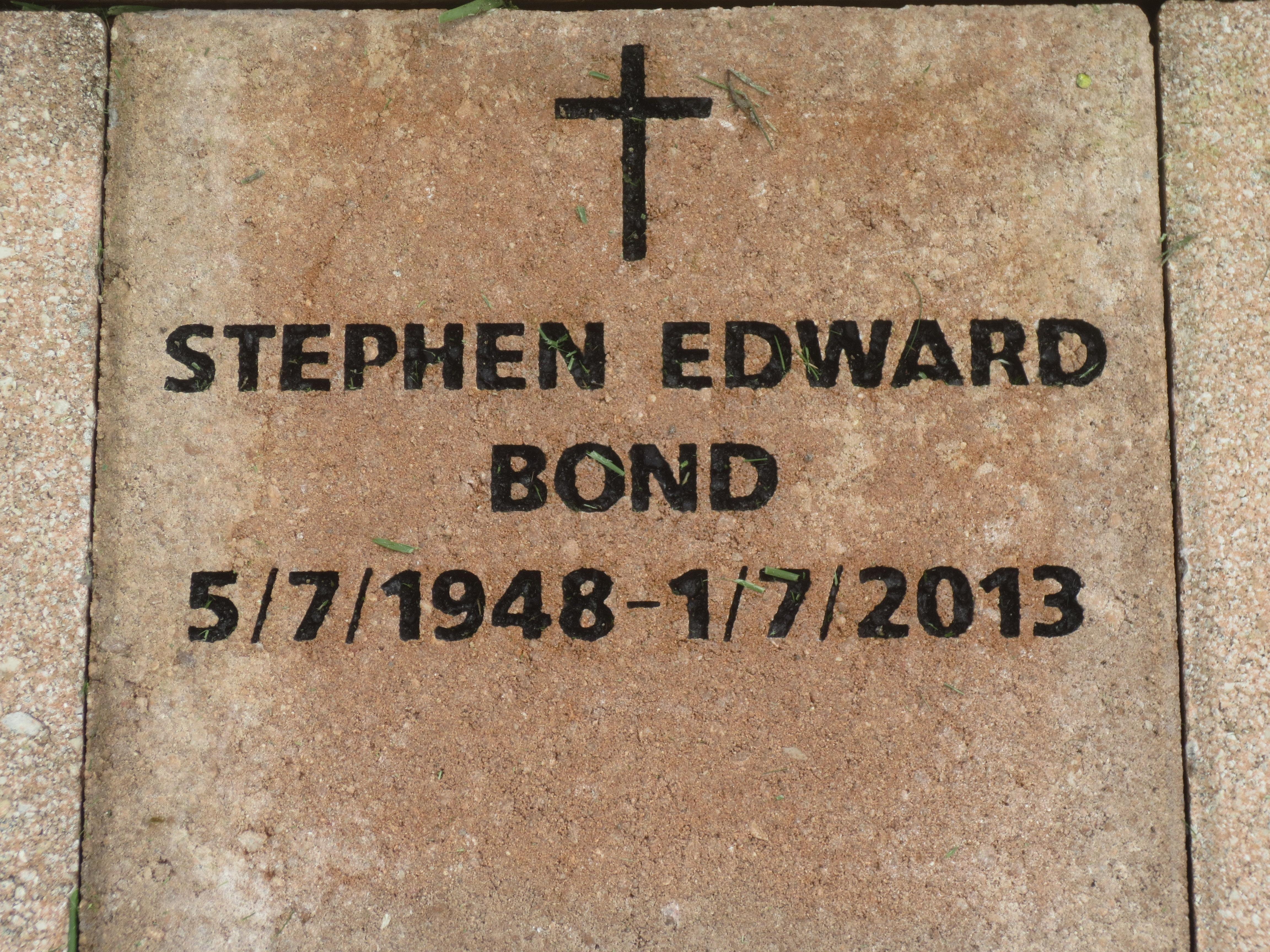 Stephen Edward Bond (1948-2013) - Find A Grave Memorial