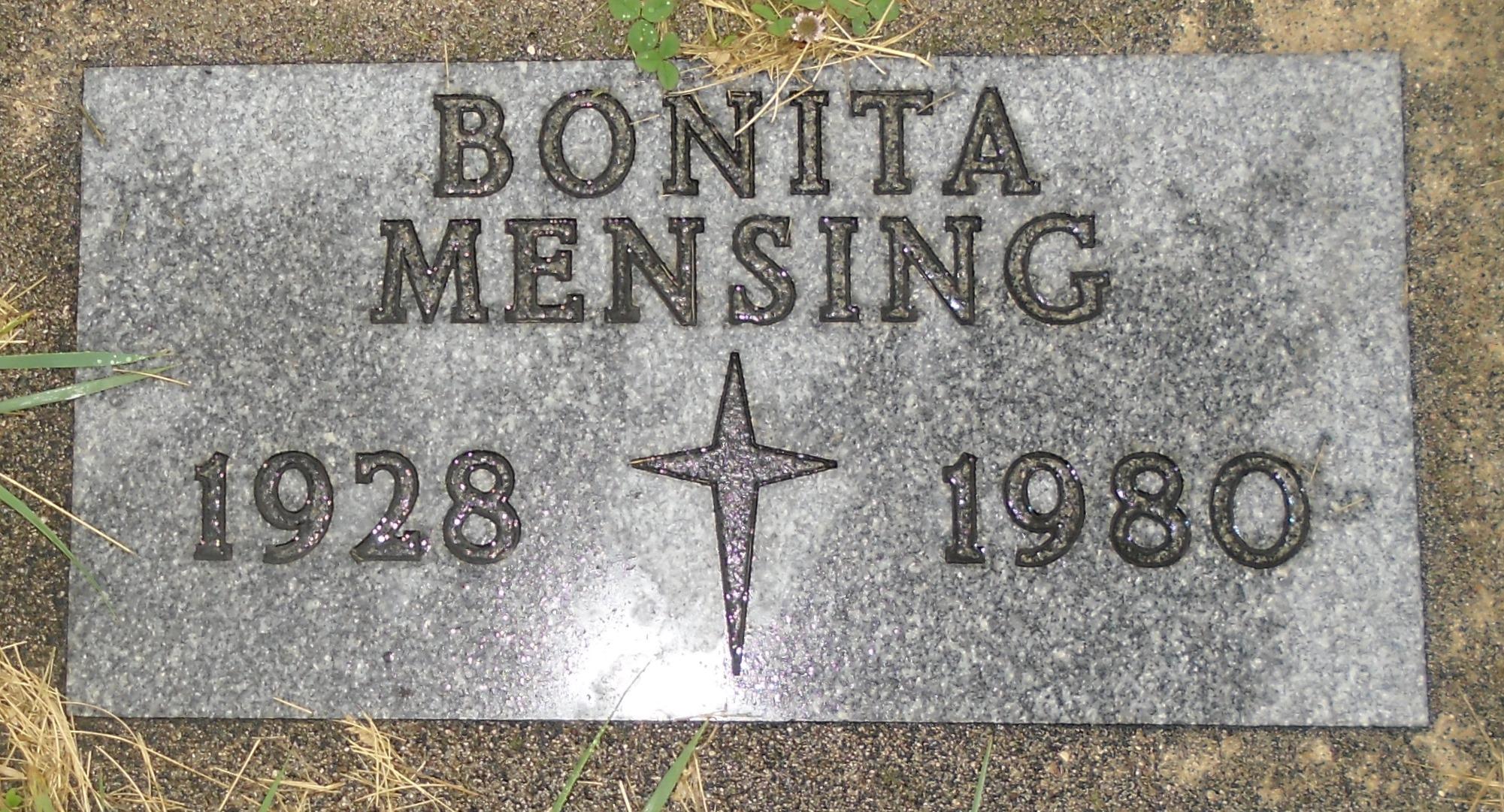 Bonita Mae <i>Schubbe</i> Mensing