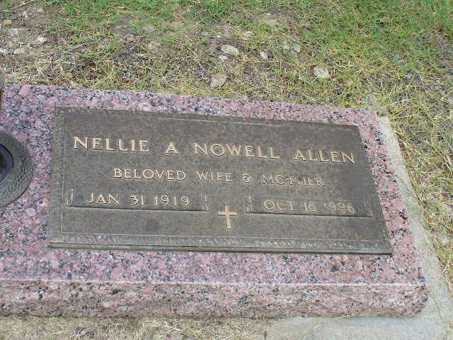 Nellie Allene <i>Nowell</i> Allen