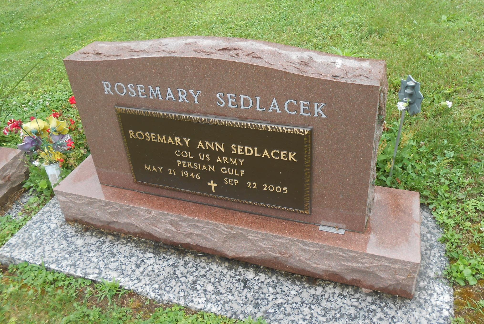 Rosemary Ann <i>Sedlacek</i> Goecke
