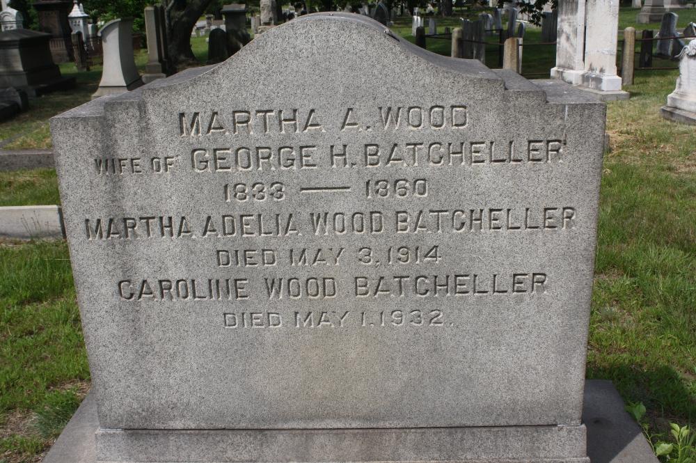 Martha Adelia <i>Wood</i> Batcheller