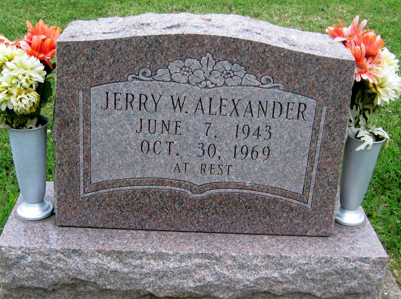 Jerry W. Alexander