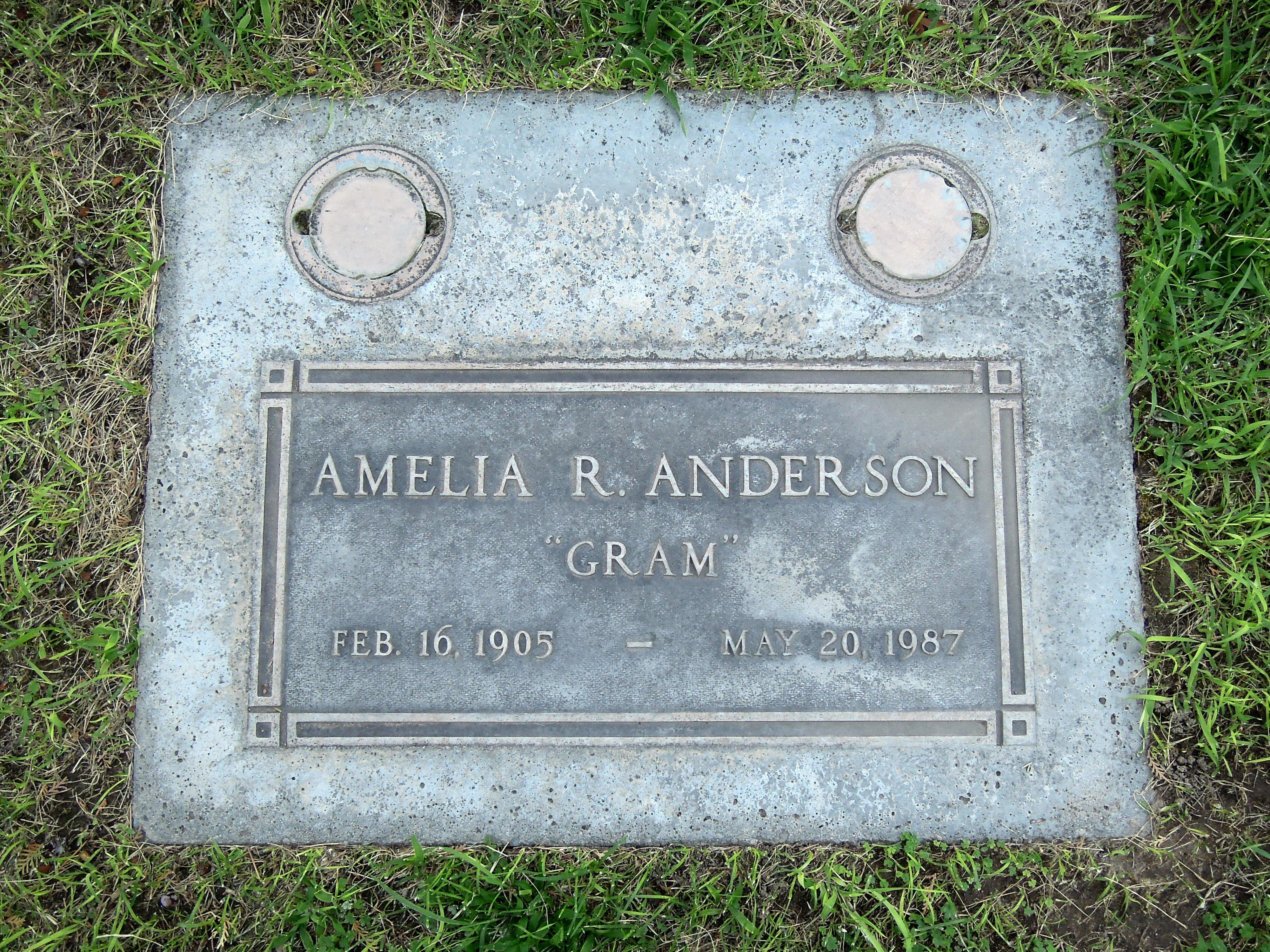 Amelia <i>Ruppel</i> Anderson