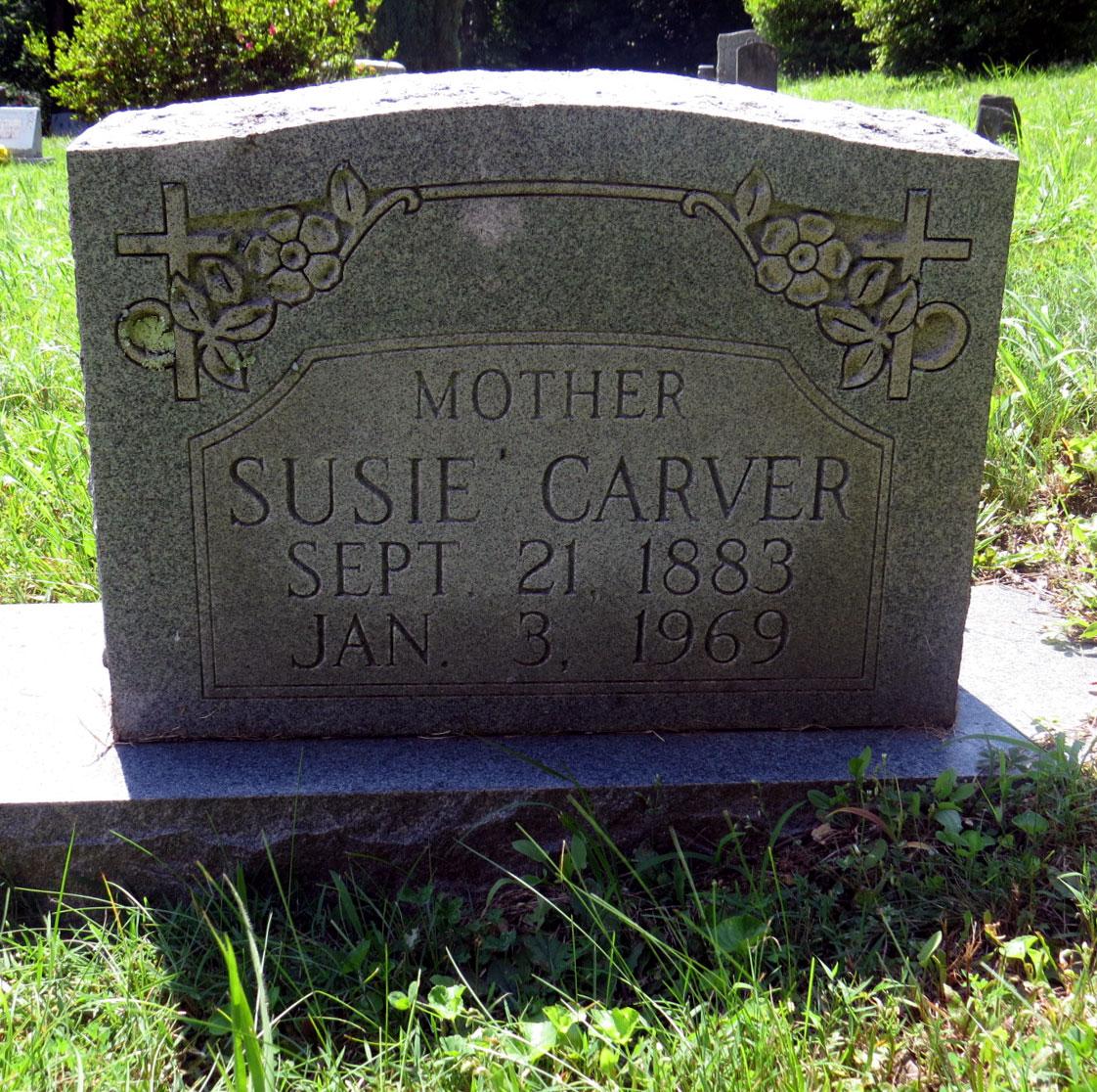 Susie <i>Silver</i> Carver