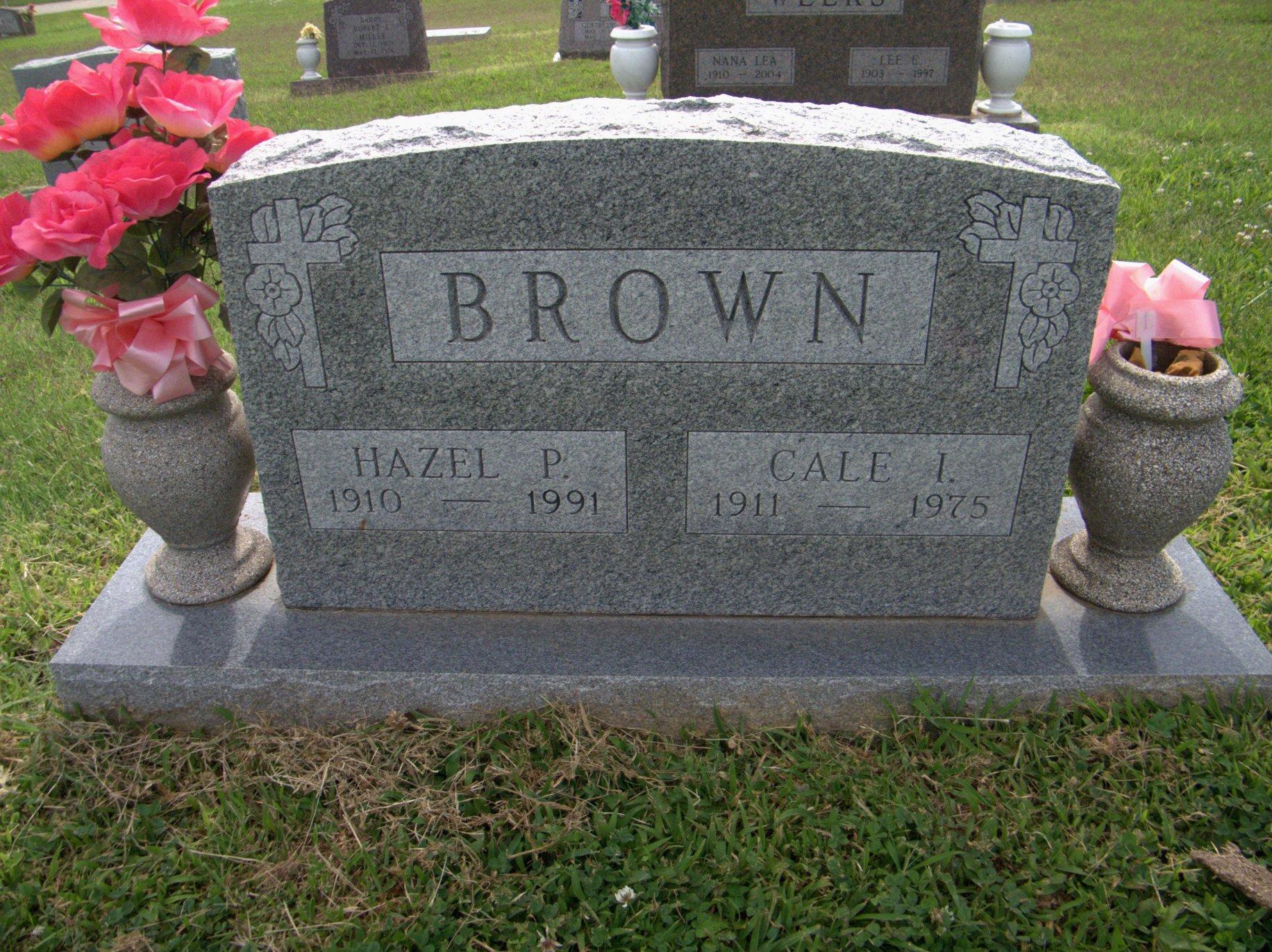 Hazel Pauline Brown