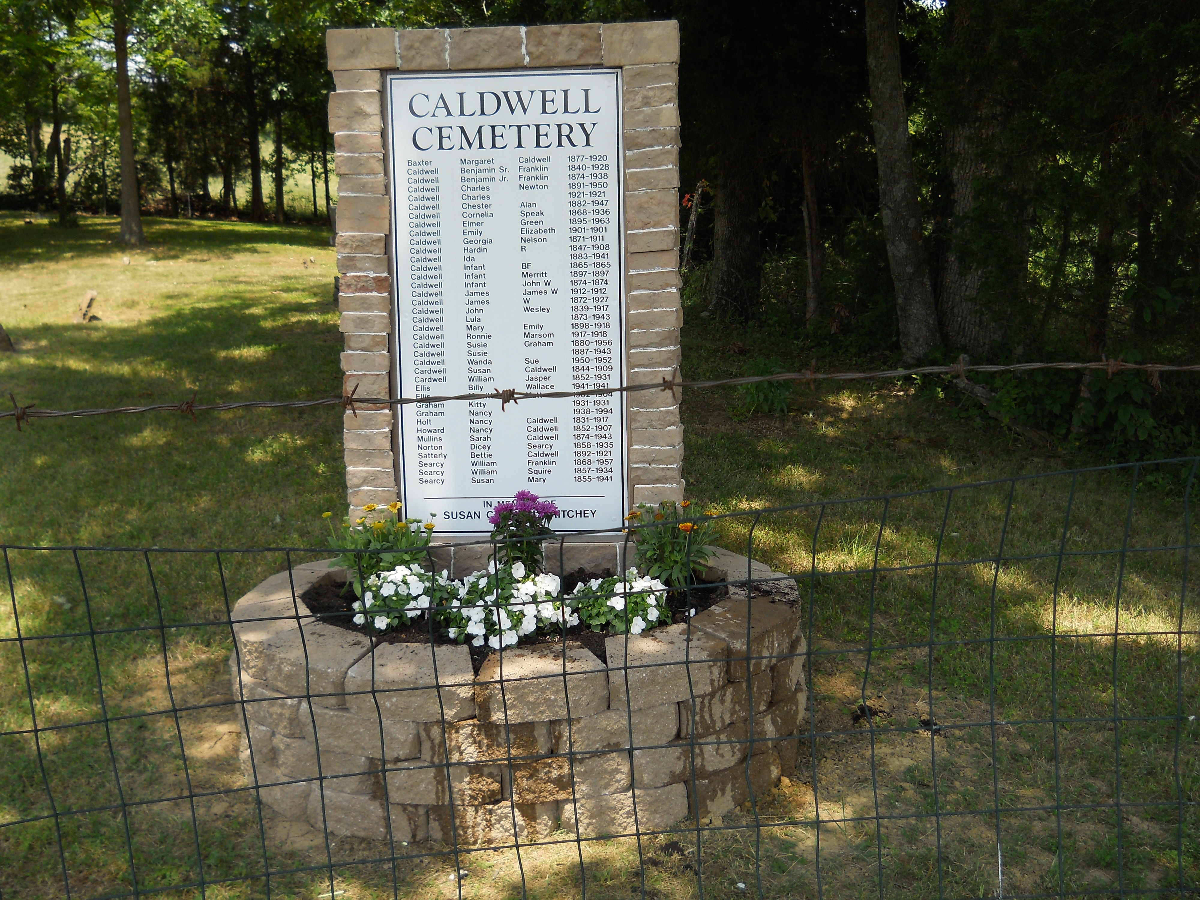 Caldwell Family Cemetery