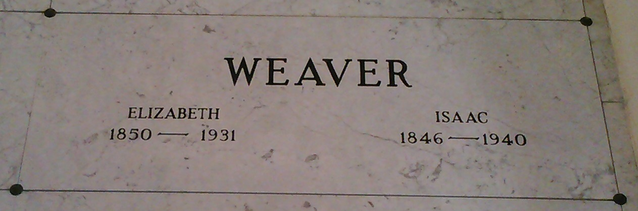 Elizabeth <i>Gingrich</i> Weaver